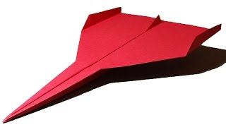 getlinkyoutube.com-How to make a GOOD PAPER AIRPLANE that flies 10000 feet - cool paper airplanes that fly far | Limbus