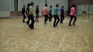 getlinkyoutube.com-TRIPLE MIX - Line Dance