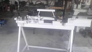 getlinkyoutube.com-CREAMEX JRJ  maquina para hacer estribos de alambron