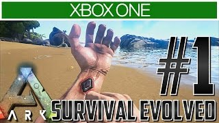 getlinkyoutube.com-Ark Xbox One Let's Play Gameplay!! Ep 1 - CAN I SURVIVE?