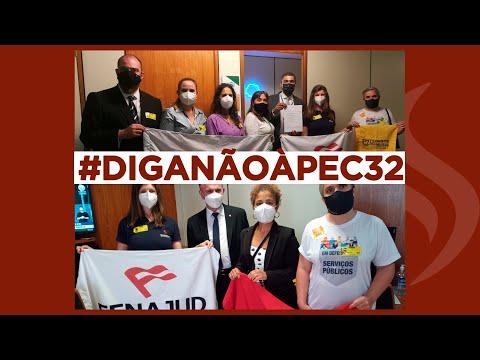 Mobilizações em Brasilia contra à PEC 32 - 22 de outubro de 2021