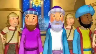 The Jesus Movie, Bible Story for Kids Animated Cartoon. (in English)