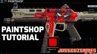 getlinkyoutube.com-Black Ops 3 Paintshop - Deadpool Camo Tutorial! (Beta Code Giveaway)