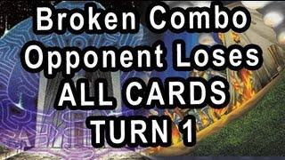 getlinkyoutube.com-Broken Combo Opponent Loses ALL CARDS TURN 1