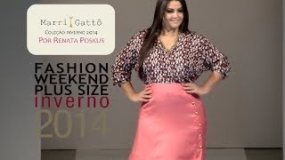 getlinkyoutube.com-Marri Gattô - Desfile Fashion Weekend Plus Size INVERNO 2014 - 9ª Edição