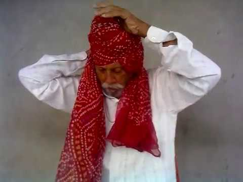 HOW TO MAKE RAJPUTI TURBAN BY THAKUR BHAWAR SINGH RATHORE