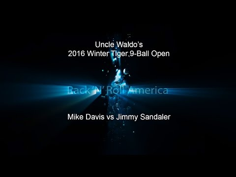 2016 Tiger Tour Winter 9 Ball Open Mike Davis vs Jimmy Sandaler