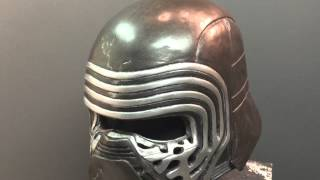getlinkyoutube.com-Kylo Ren Helmet cast and painted (with music)