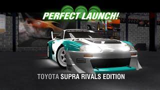 getlinkyoutube.com-Racing Rivals Toyota Supra Rivals Edition Perfect Launch Tutorial