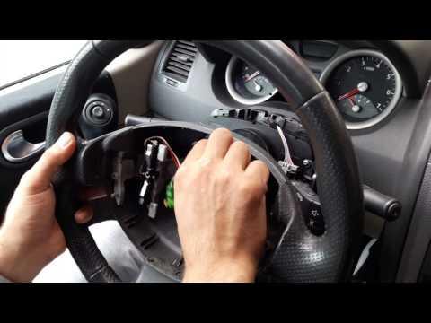Demonter AirBag,volant et commodo Renault megane 2