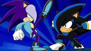 ::Recoloring【Sonic X】To Shady and Sonica The Hedgehog:: ~Request - BeckyChelsea~