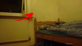 getlinkyoutube.com-Pesadillas reales: Fantasma captado en la habitacion | Parálisis del Sueño