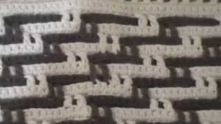 getlinkyoutube.com-tapete em crochê com dois fios