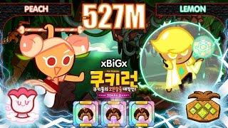 getlinkyoutube.com-Kakao CookieRun 527M [EP.2] Peach+Lemon นาจา+เลม่อน [3-Croissants] | xBiGx