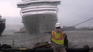 getlinkyoutube.com-Carnival Triumph Cruise Ship Breaks Free