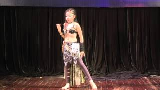 getlinkyoutube.com-Unlimited Bellydance Comeptition 2015 - Kid Solo - Lê Thị Bích Ngọc 1st Place