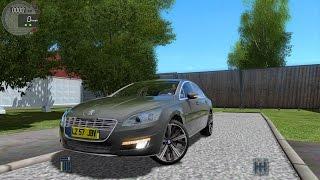 getlinkyoutube.com-City Car Driving 1.4.1 Peugeot 508 [G27]