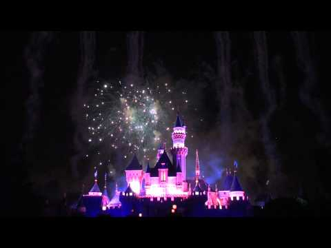 Magical Fireworks at Disneyland 5/27/11