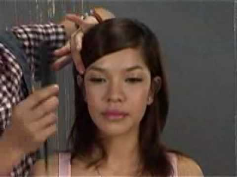 Huong dan boi toc co dau, bridal hairstyle
