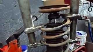 getlinkyoutube.com-Veja na Oficina Troca Amortecedor Dianteiro Fiat Palio 1.0 16 V 2002