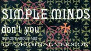 getlinkyoutube.com-Simple Minds - Don't You (Forget About Me) (12'' Original Version)