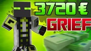 getlinkyoutube.com-[Deutsch] Minecraft Griefing - 3720 € Ergrieft