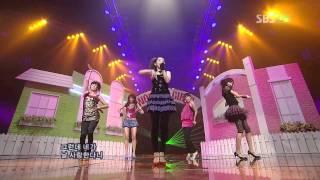getlinkyoutube.com-[HD] Wonder Girls Tell Me comeback @ Inkigayo 070909