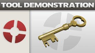 getlinkyoutube.com-Tool Demonstration: Mann Co. Supply Crate Key