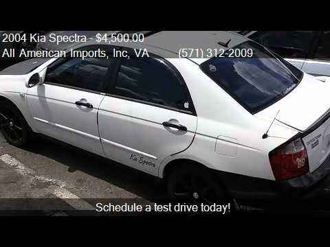 2004 Kia Spectra EX 4dr Sedan for sale in Arlington, VA 2220