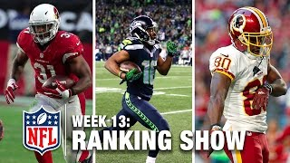 getlinkyoutube.com-Week 13 Rankings Show | Top 10 Plays, Top 3 Celebrations, & More! | NFL