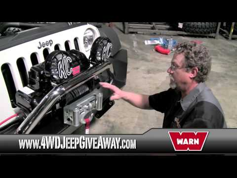 Jeep Winches Winner: Installing a WARN PowerPlant Winch