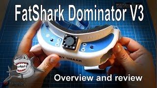 getlinkyoutube.com-RC Reviews - FatShark Dominator V3 FPV Goggles and new 960TVL camera