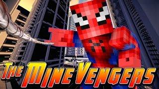 getlinkyoutube.com-Minecraft MineVengers - SPIDERMAN!!!