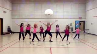 That Power - Will.I.Am ft Justin Beiber.  Wow Girls Zumba!