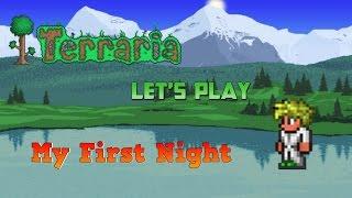 getlinkyoutube.com-Terraria PC- My First Night [1]
