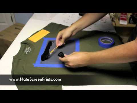 AMAISINGLY Simple way to Screen Print at Home!