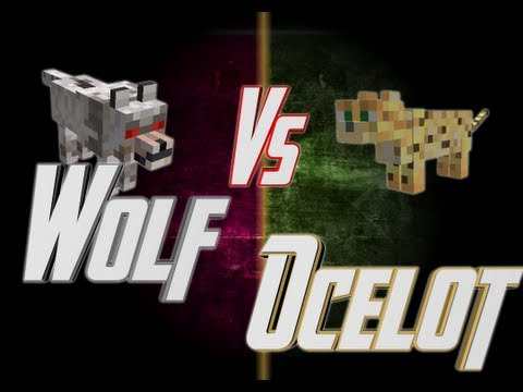 Epic Rap Battles of Minecraft - Wolf vs Ocelot - Epic Rap Ba