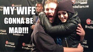 getlinkyoutube.com-HUGGING WWE DIVA PAIGE! PRANKING SETH ROLLINS! RINGSIDEFEST 2015
