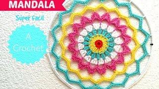 Cómo hacer una mandala a Crochet