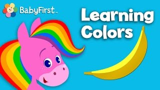 getlinkyoutube.com-Color Cartoons for Children | Learning Colors for Kids | Rainbow Horse | Colorful Preschool Video