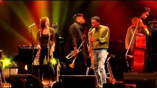 getlinkyoutube.com-CHRISTIAN SCOTT Live Nancy Jazz Pulsations 2013