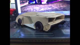 getlinkyoutube.com-new lamborghini design paper model