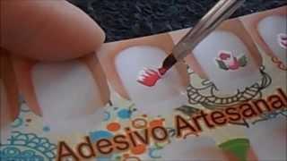 getlinkyoutube.com-Movimentos básicos para adesivos artesanais