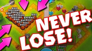 getlinkyoutube.com-Bloons TD Battles :: NEVER LOSE... EVER  ::  THIS STRATEGY IS INSANE