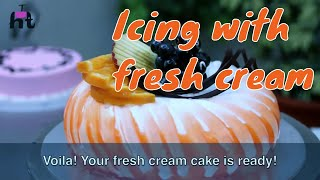getlinkyoutube.com-Icing with Fresh Cream