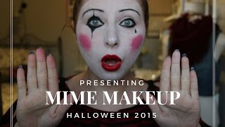 getlinkyoutube.com-Halloween | Simple Mime Makeup