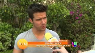 getlinkyoutube.com-Brandon Peniche aclaró rumores de La Malquerida