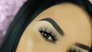getlinkyoutube.com-Easy Eyebrow Tutorial For Beginners 2016