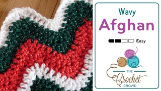 getlinkyoutube.com-How to Crochet An Afghan: Wavy Afghan