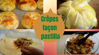 getlinkyoutube.com-Cuisine marocaine / Recette Crêpes farcies spécial Ramadan